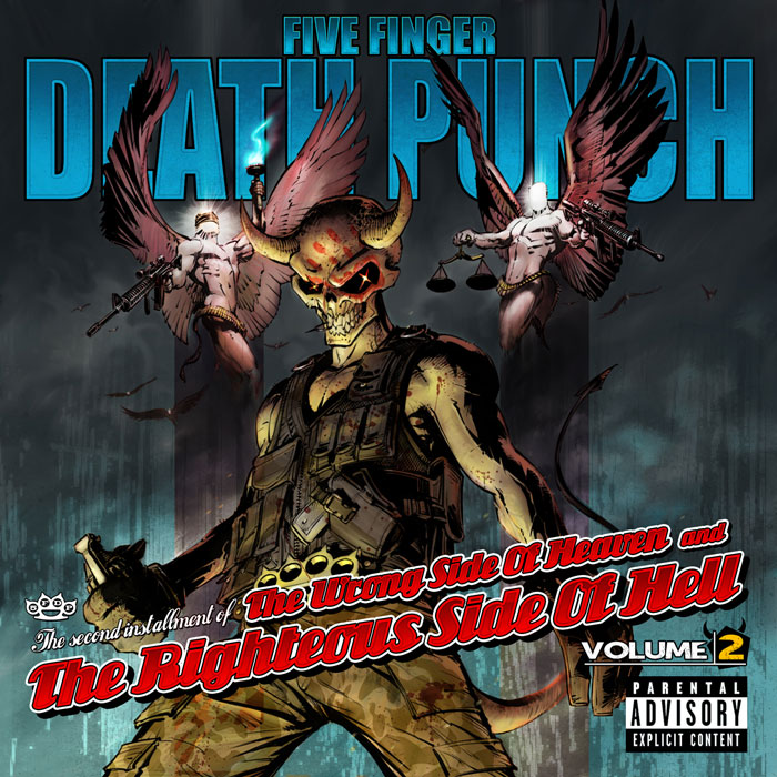 "Album Review: Five Finger Death Punch – ""The Wrong Side Of Heaven And The Righteous Side Of Hell Vol 2"""
